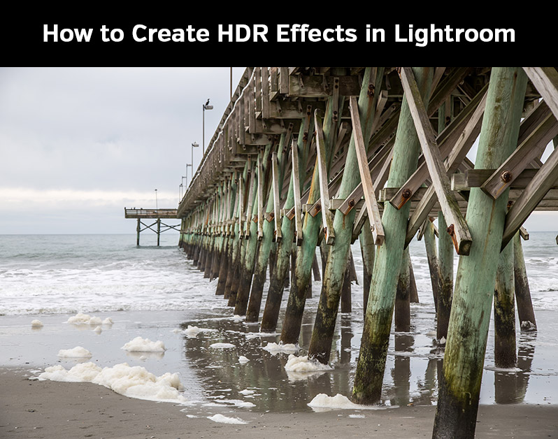 create HDR in Lightroom