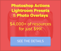 Photoshop Actions, Lightroom Presets, and Photo Overlays