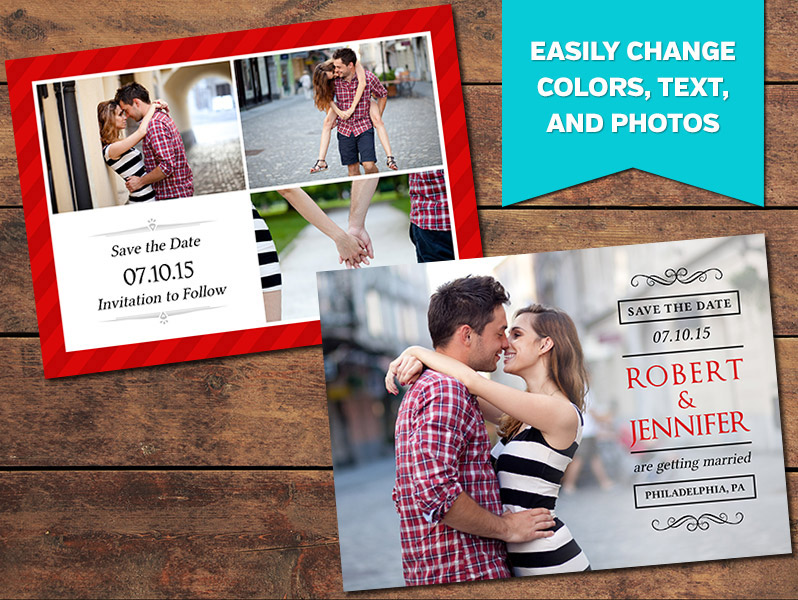 Apple Save-the-Date Card Template