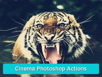 Cinema Photoshop Actions