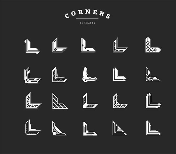 Corner Shapes