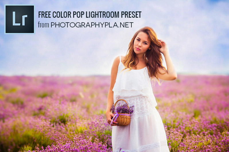 Free Color Pop Lightroom Preset