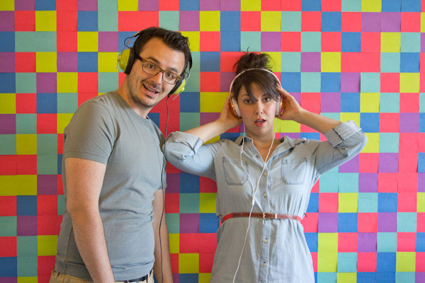 Post-it Pixels Photobooth