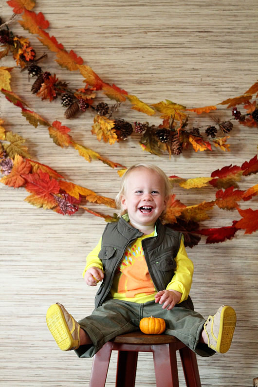 Leaf Garland Backdrop