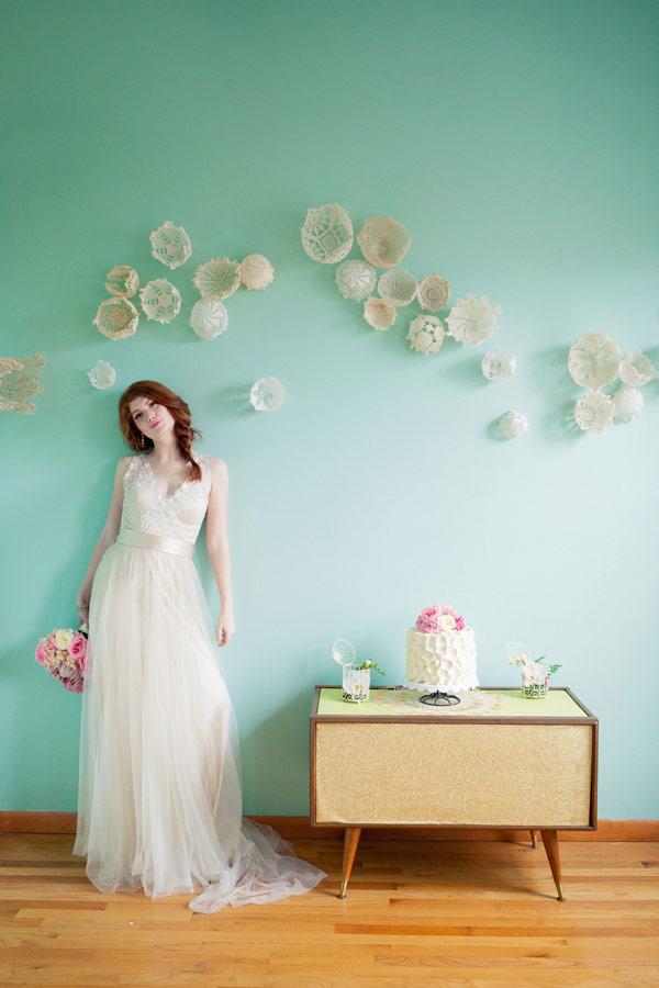 Doily Backdrop