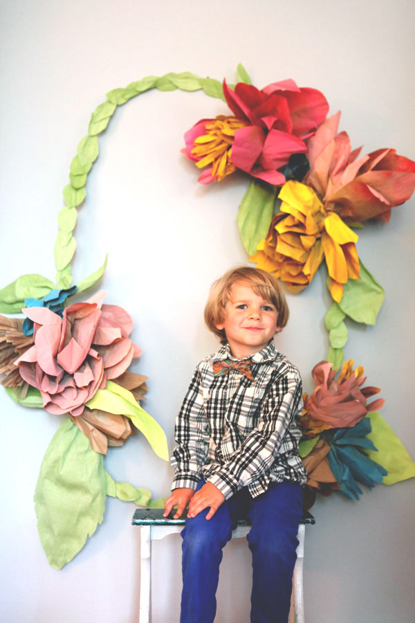 Floral Wreath Backdrop