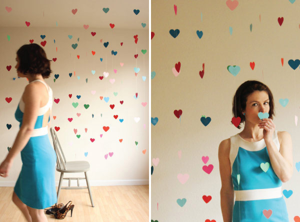 Floating Heart Backdrop