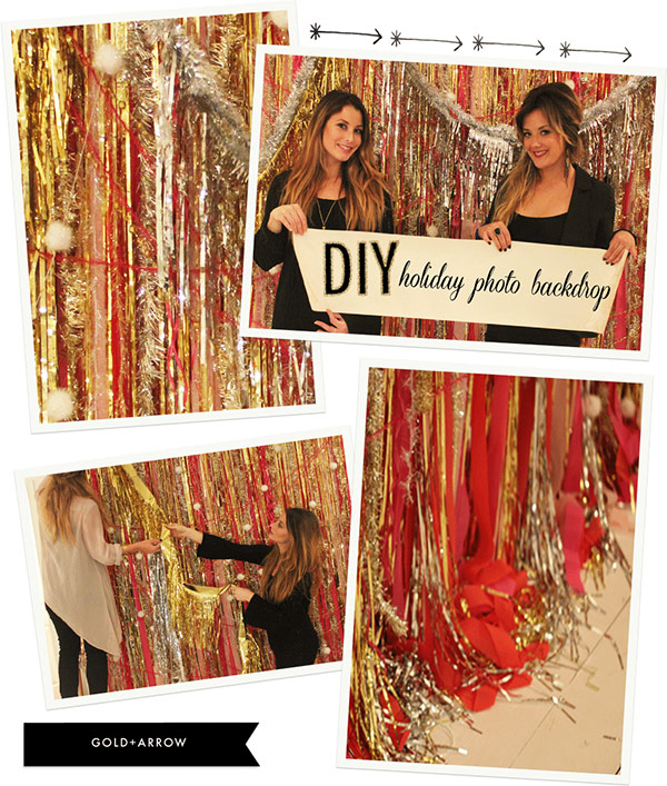 Holiday Photo Backdrop