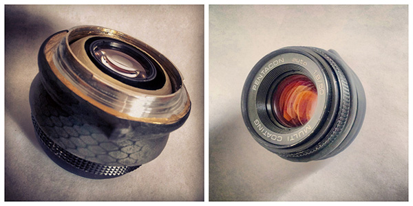 DIY Tilt Shift Lens