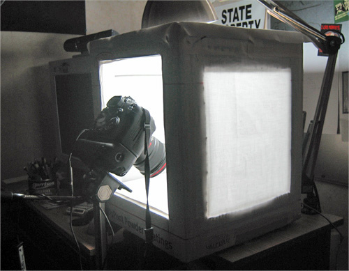 Inexpensive Light Tent