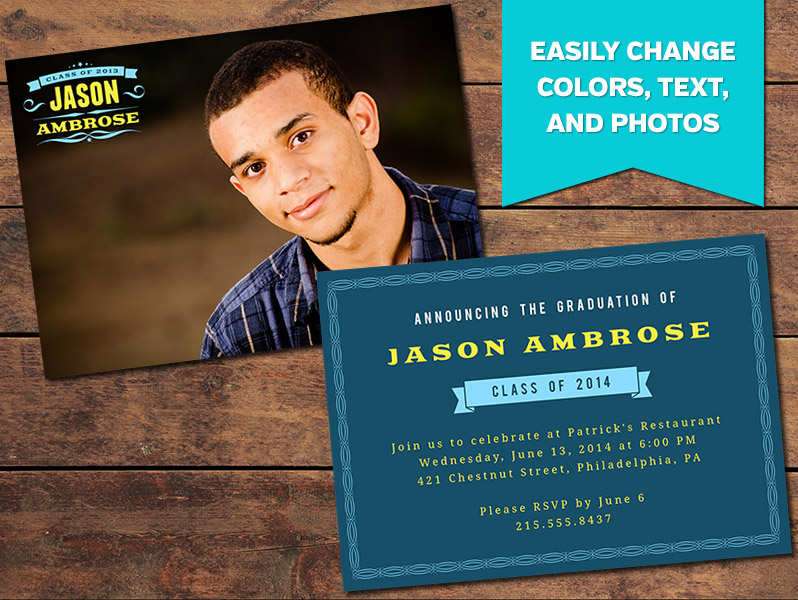 Grand Graduation Announcement PhotographyPlanet – Graduation Invitations Templates 2011