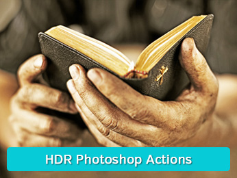 Faux HDR Photoshop Actions