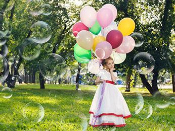 Bubbles Photo Overlays