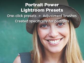 Portrait Power Lightroom Presets