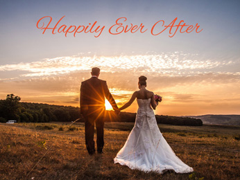 Simple Wedding Word Overlays