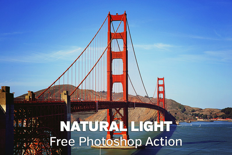 Natural Light Photoshop Action