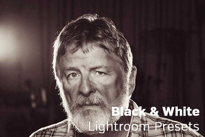 Black & White Lightroom Presets