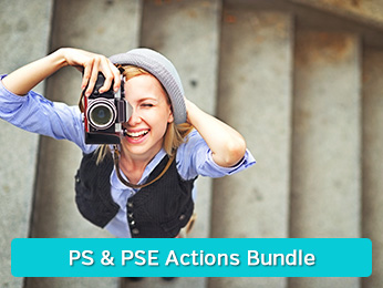 Photoshop Elements Actions Bundle
