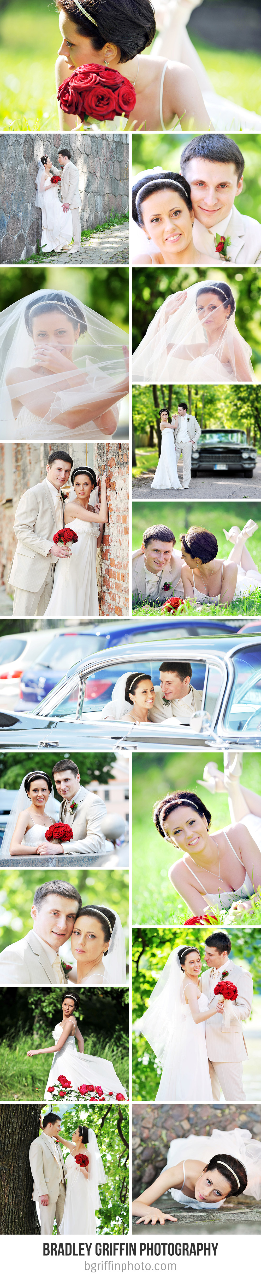 Customize 697 Wedding Photo Collage templates online  Canva
