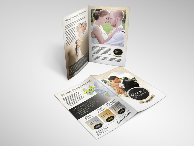 Active Deals Deals  Wedding Photography Services Brochure