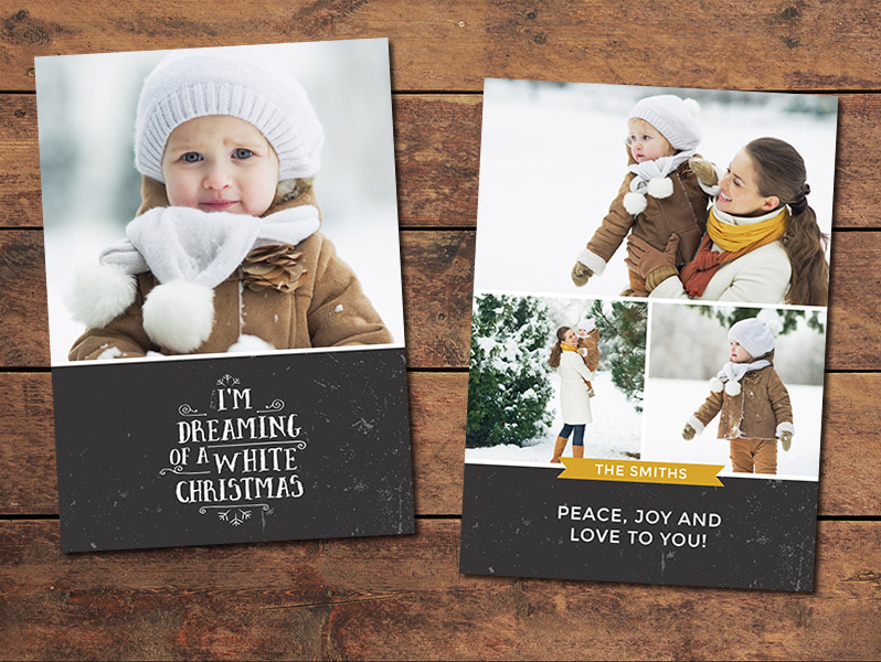 Christmas Card Templates For Photographers Geccetackletartsco - Free christmas card templates for photographers