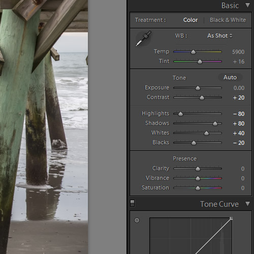 HDR Effects in Lightroom
