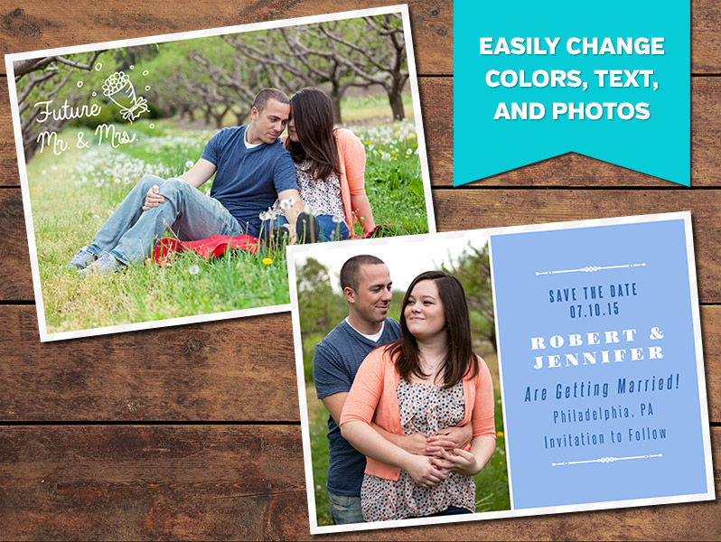 Classic Save-the-Date Card Template