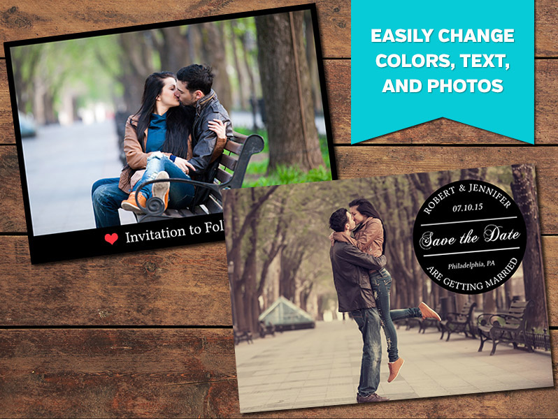 Devotion Save-the-Date Card Template