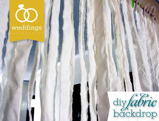 Wedding Banner Backdrop