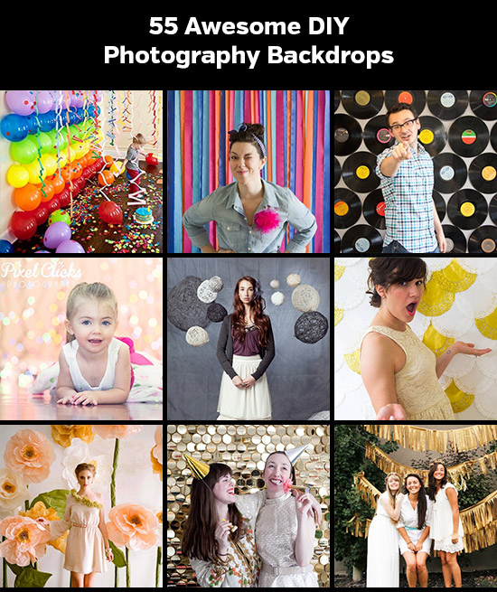 55 Awesome Diy Photography Backdrops Photographypla Net