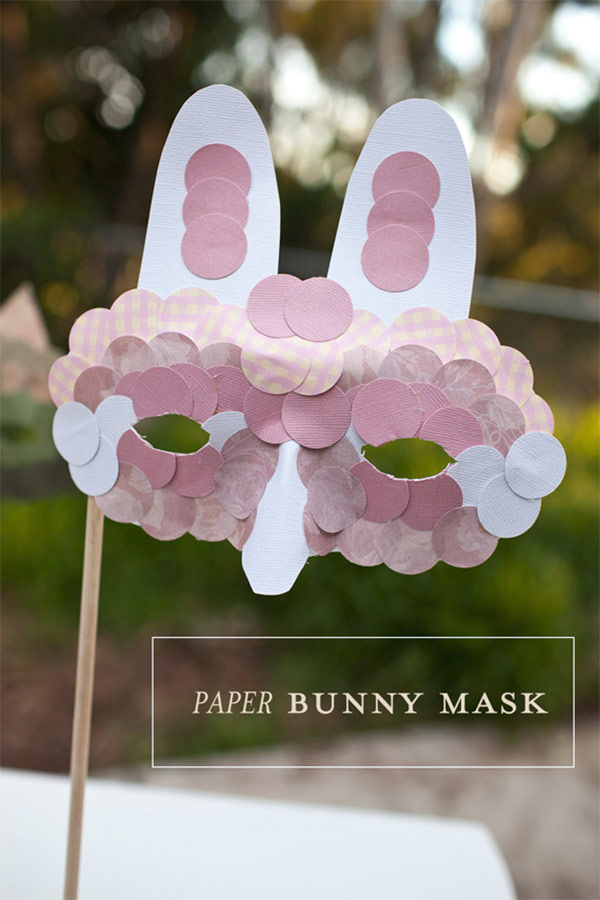 Paper Bunny Mask