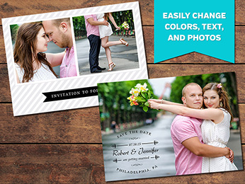 Save-the-Date Card Template