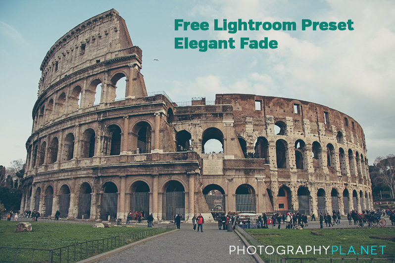 Free Elegant Fade Lightroom Preset