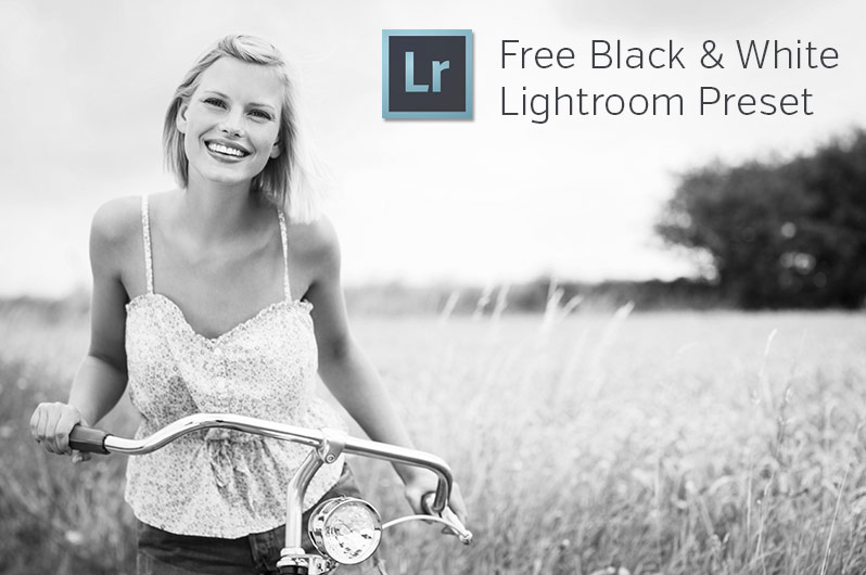 Free Black and White Lightroom Preset