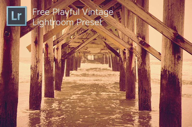 Free Playful Vintage Lighroom Preset
