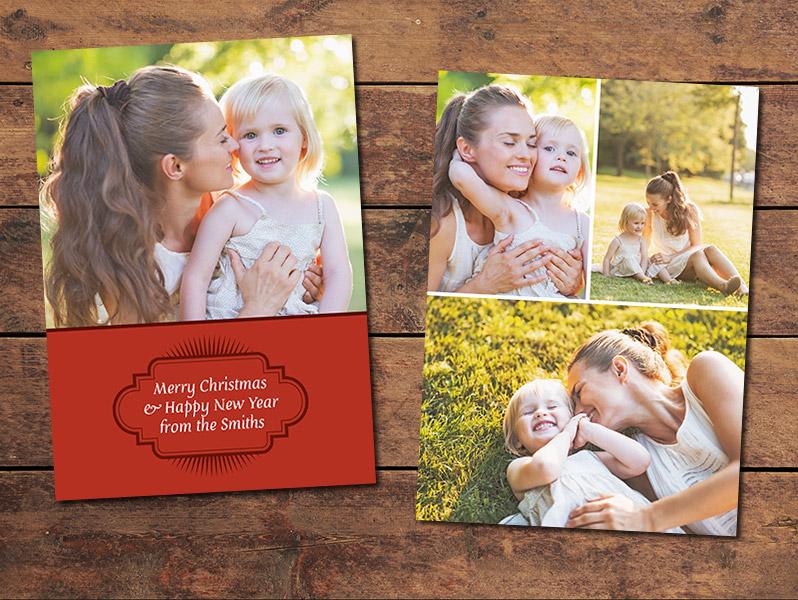 Joyful Christmas Card Template