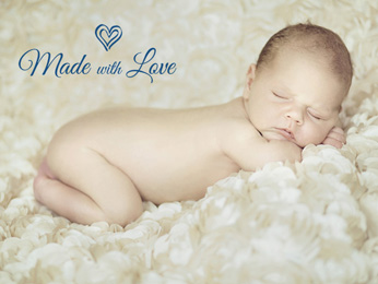 Simple Newborn Word Overlays