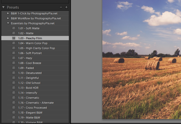 How to Use the Essentials for Lightroom Presets