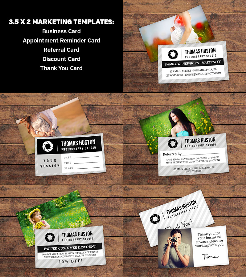 Marketing Templates from the Photography Business Kit