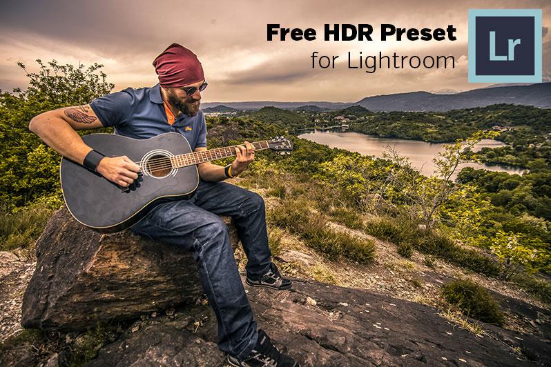 Free HDR Lightroom Preset - Photoshop Actions | Lightroom